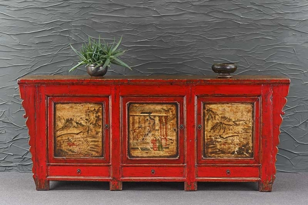 Original Sideboard antik aus China