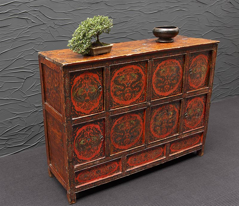 antike sideboards aus Tibet