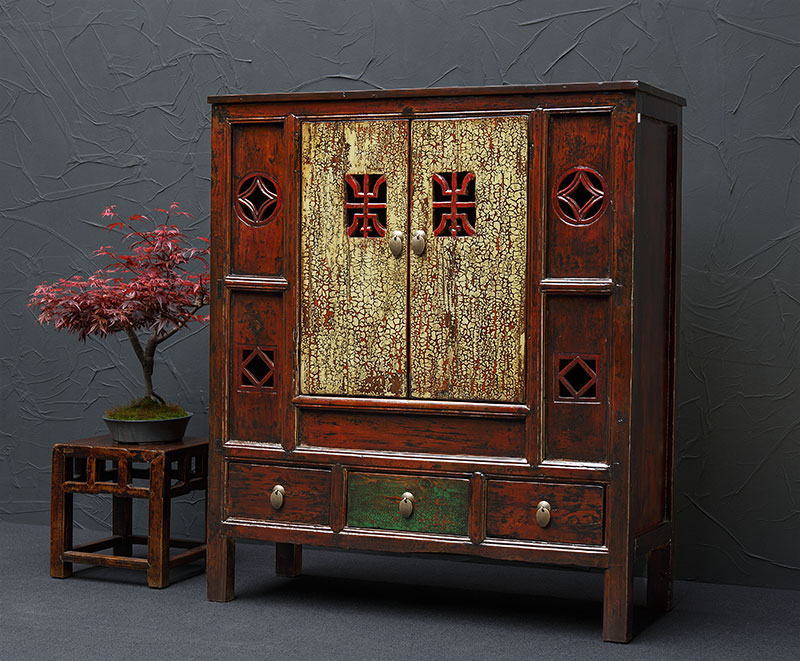 antike, asiatische Highboards