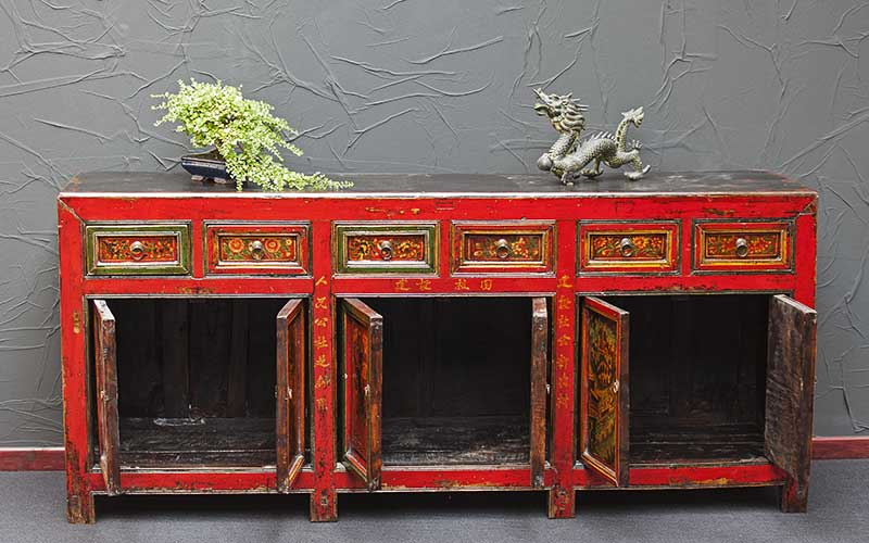 antikes sideboard china feng shui möbel