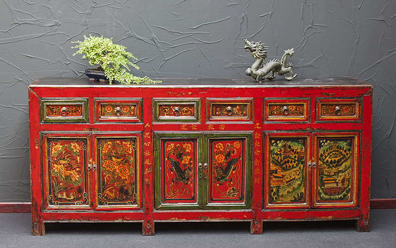 grosse sideboards china antik ulme
