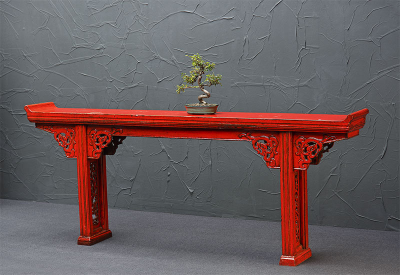 altartisch rot antik china